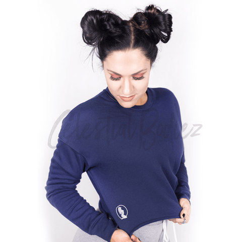 *CHILL* Navy Crew Sweatshirt