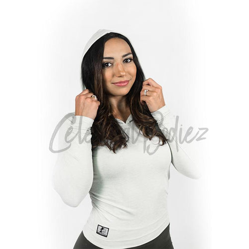Dove Grey Pullover Hoodie