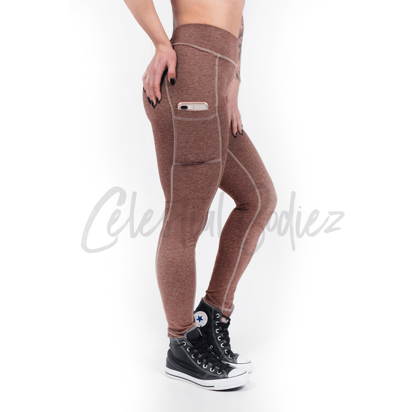 Red Rock Pocket Leggings