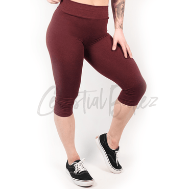 High Waist Ruby Capri Leggings