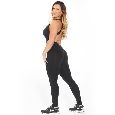 V-Cut Black Capri