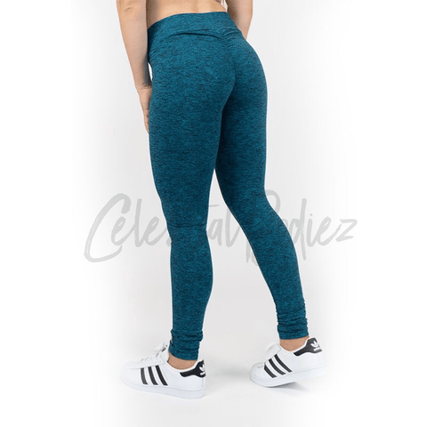 High Waist Peacock Leggings