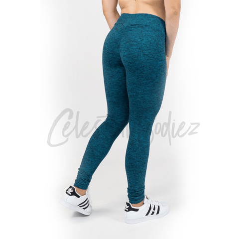 V-Cut Electric Leggings