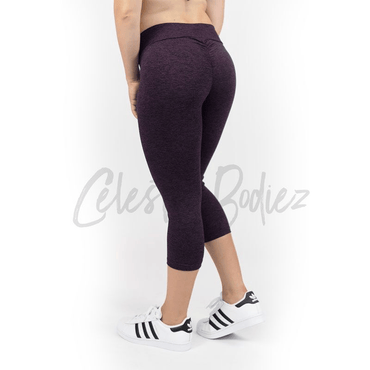 V-Cut Twilight Capri Leggings