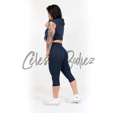 High Waist Midnight Capri Leggings