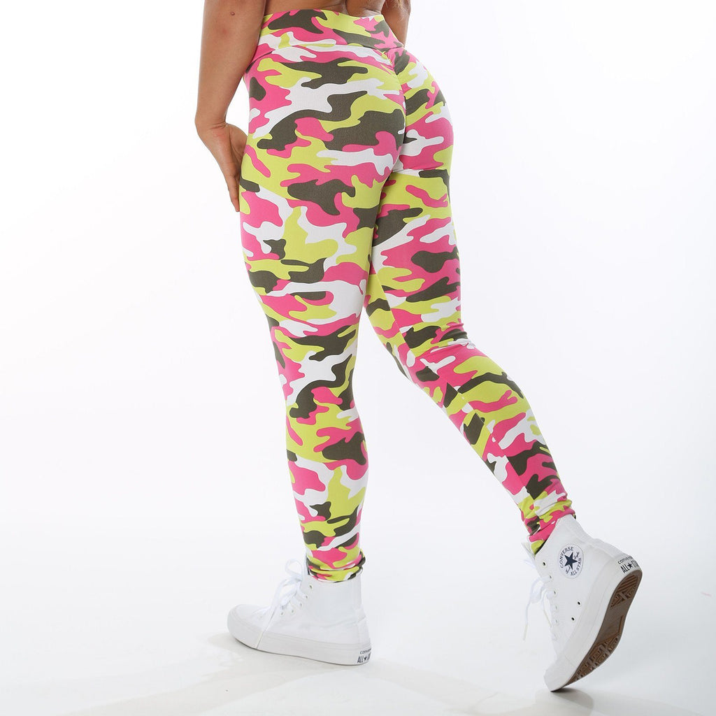 Low Rise Tropic Camo Leggings