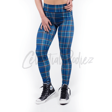 Preppy Plaid Leggings