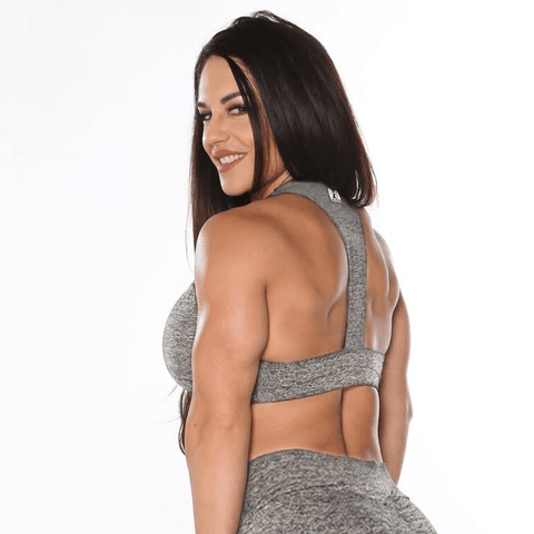 Heather Grey Sports Bra