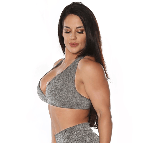 Lunar Heather Sports Bra