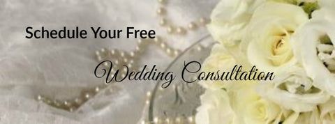 Contact us to schedule your complimentary Wedding Consultation