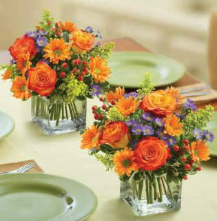 Thanksgiving Flower Class
