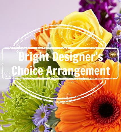 Designer's Choice Bouquet ~ Bright