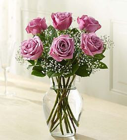 Love's Embrace™ Roses - Purple