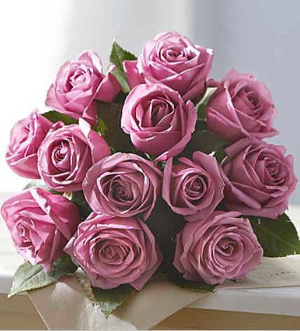 12 Passion for Purple Roses