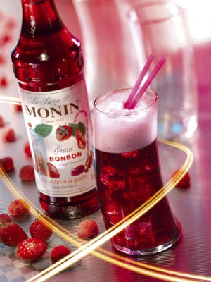Monin Candy Strawberry Syrup (70 cl)