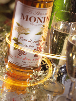Monin Elderflower Syrup (70 cl)