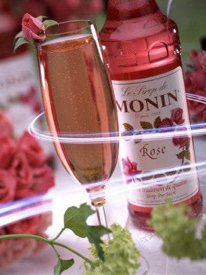 Monin Rose Syrup (70 cl)