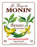 Monin Yellow Banana Syrup (70 cl)