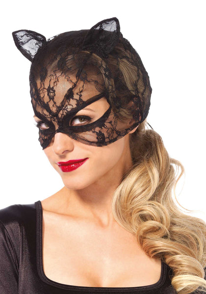 Lace Cat Mask