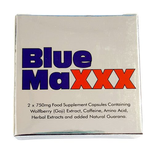 Blue Maxxx Male Libido Enhancer