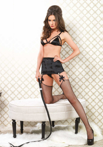 Leg Avenue Bra, Girdle Skirt & G-String