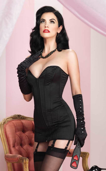 Leg Avenue Satin Corset Dress
