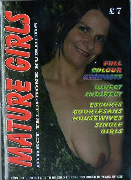 Mature Girls Contact Magazine -