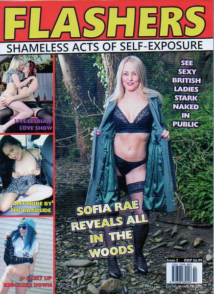 Flashers Issue 2 - shameless acts of self-exposure