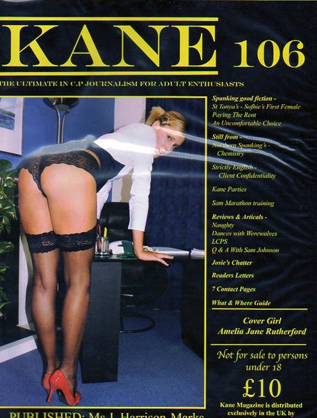 Kane Magazine Number 106 The Ultimate in Corporal Punishment for Adult Enthusiasts
