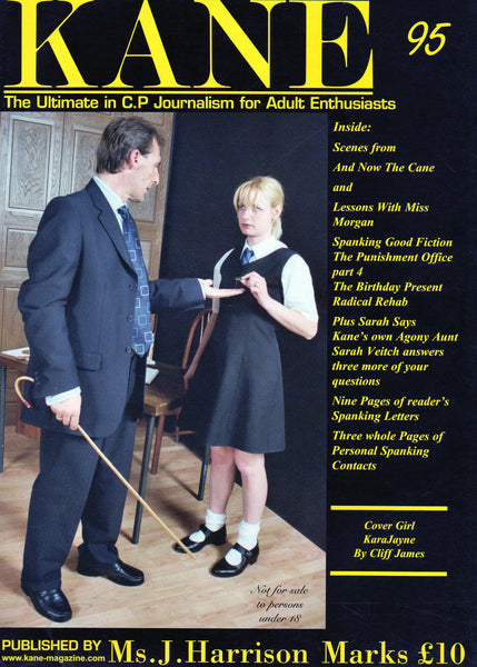 Kane Magazine Number 95 The Ultimate in Corporal Punishment for Adult Enthusiasts