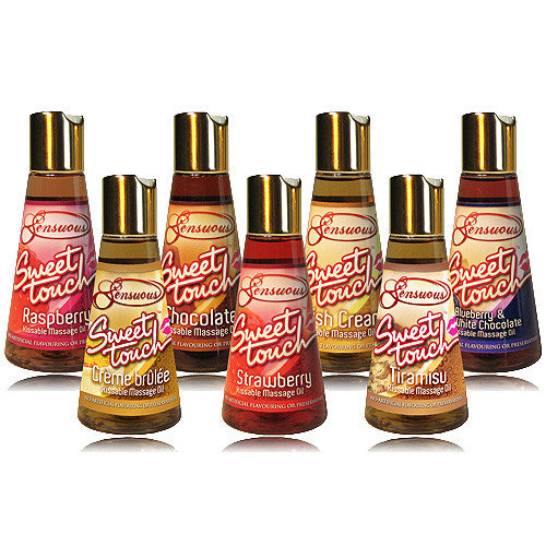 Sensuous Sweet Touch Kissable Massage Oil