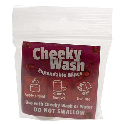 Cheeky Wash Expandable Wipes