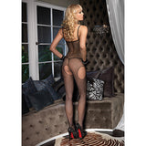 Leg Avenue Suspender Open-Crotch Bodystocking
