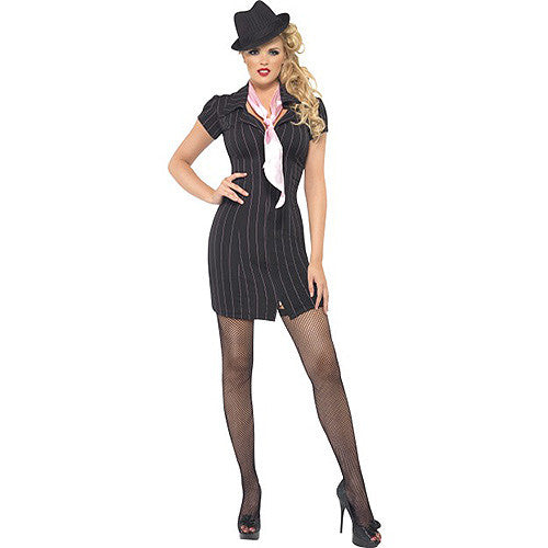 Fever Gangster Lady Costume