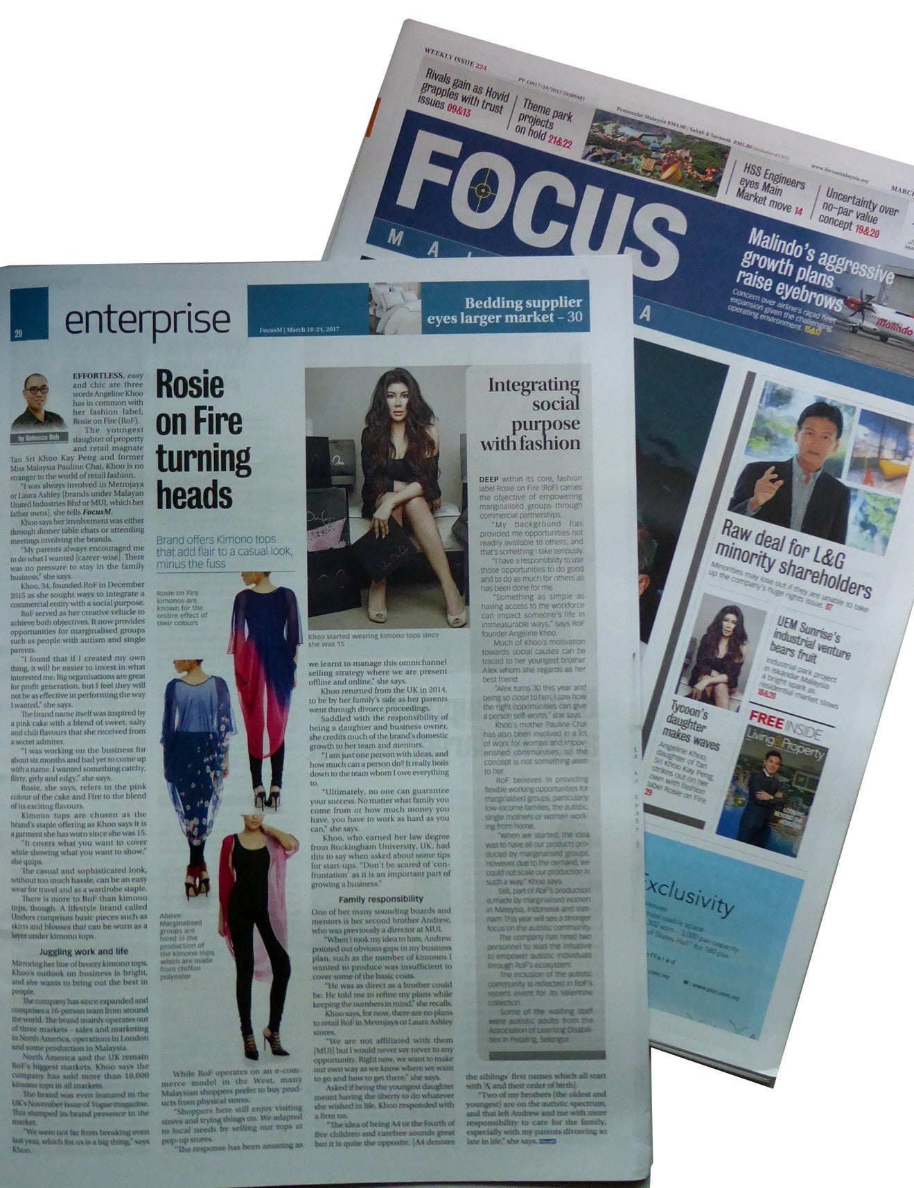 Angeline in Focus Malaysia