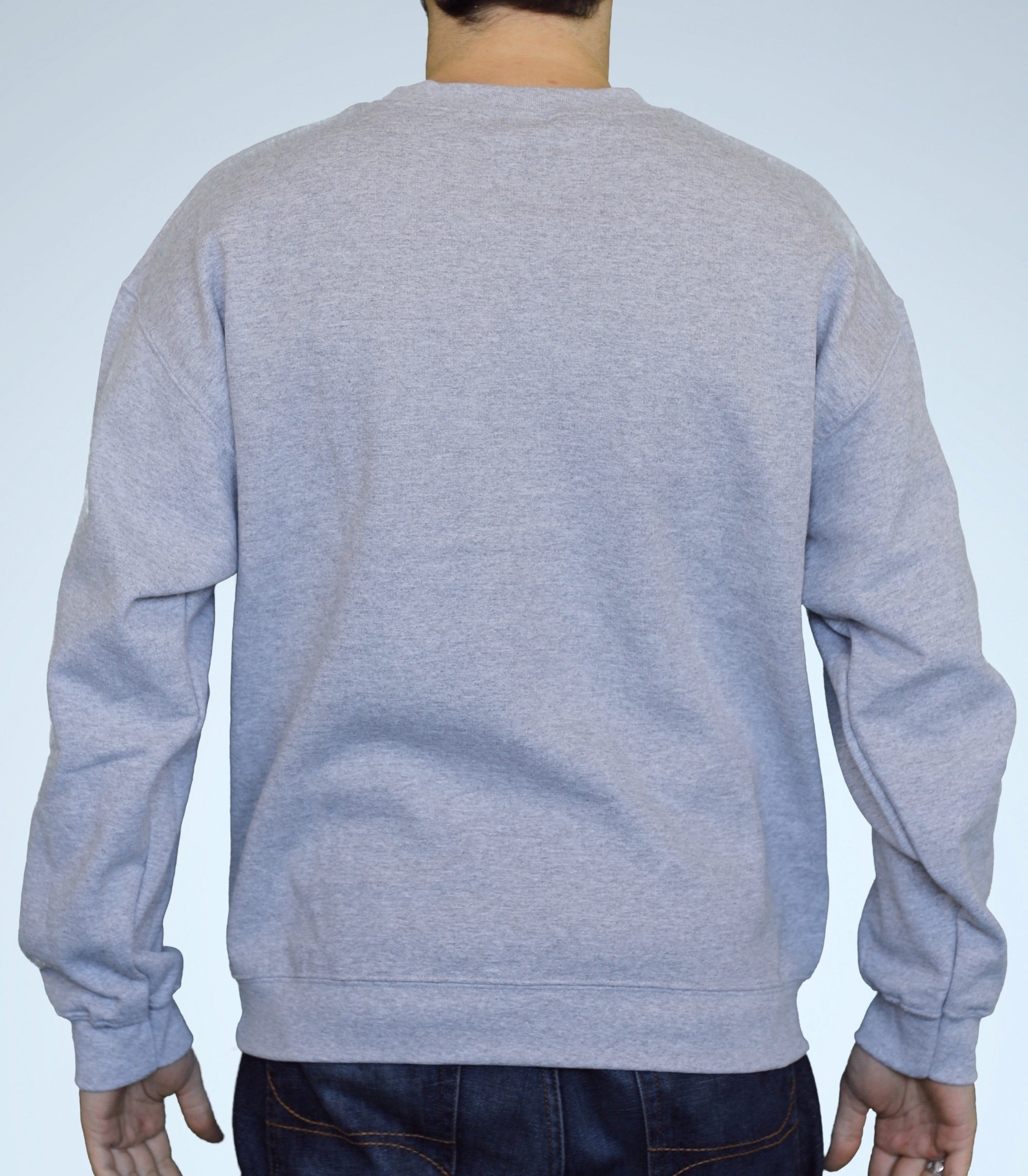 Grey Crew Neck Sweater