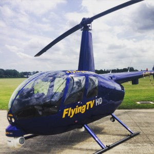 Flying TV Helicopter