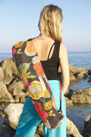YOGA MAT BAG - TROPICAL