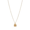 GOLD INTENTION NECKLACE - GODDESS POWER