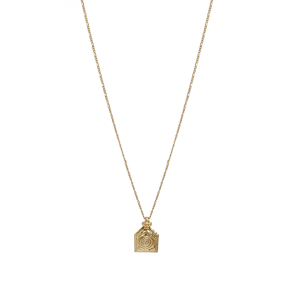 GOLD INTENTION NECKLACE - INNER STRENGTH