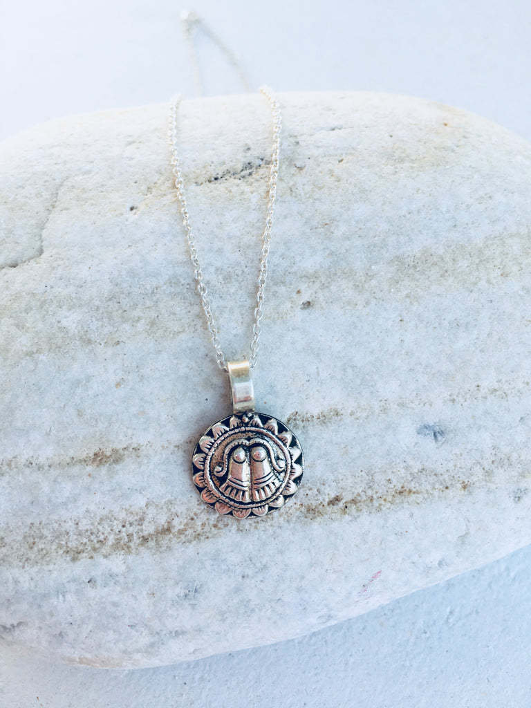 GUARDIAN - INTENTION NECKLACE (SILVER)