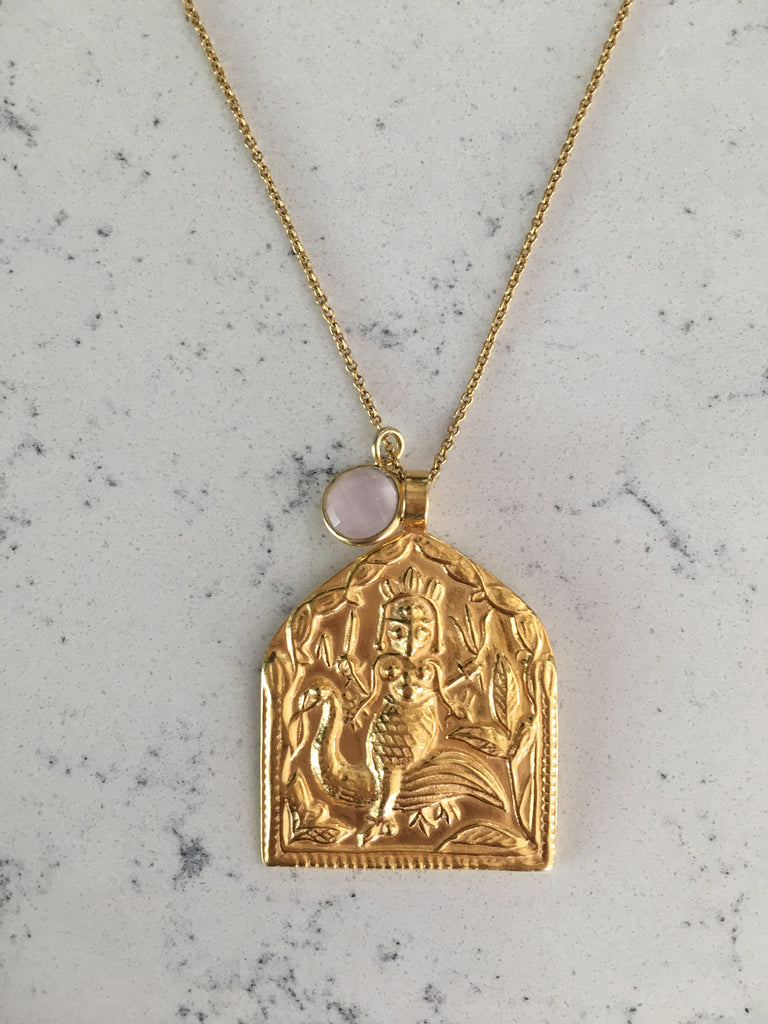 CREATIVITY - INTENTION NECKLACE (GOLD)