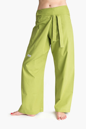 Yoga / Thai Fisherman Trousers - Olive