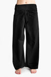 Yoga / Thai Fisherman Trousers - Black
