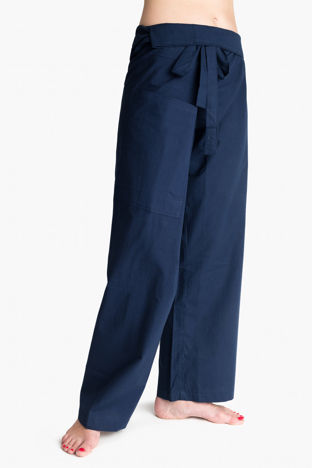 Yoga / Thai Fisherman Trousers - Blue