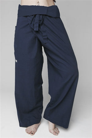 Men's Thai Fisherman Trousers - Blue