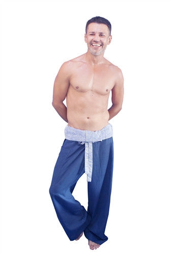 Men's Thai Fisherman Trousers - LTD EDITION BLUE