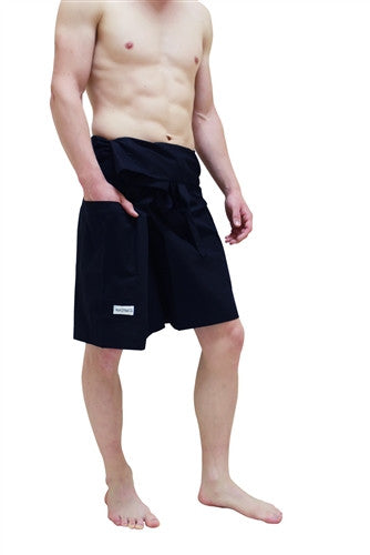 Men's Capri - Thai Fisherman Trousers - Black