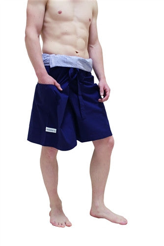 Men's Capri - Thai Fisherman Trousers - LTD EDITION BLUE