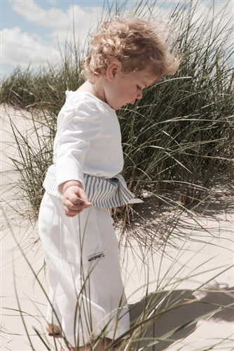 Limited Edition White - Thai Fisherman Trousers - 0-3 yrs